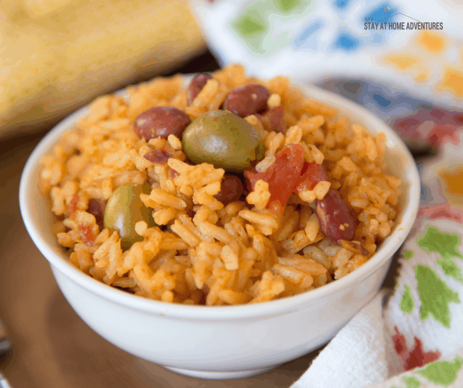 This Instant Pot Arroz Con Habichuelas or Puerto Rican Rice and Beans is the perfect family meal that you are going to love.