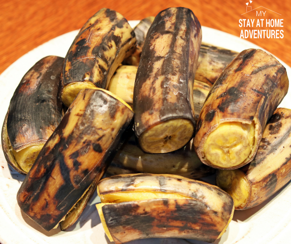 Boiled plantain - Ripe