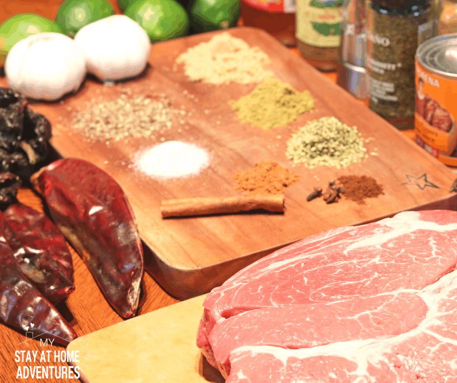 What seasonings do I need to make beef barbacoa?