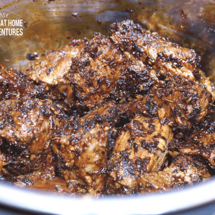 Instant Pot Puerto Rican Beef Barbacoa Recipe