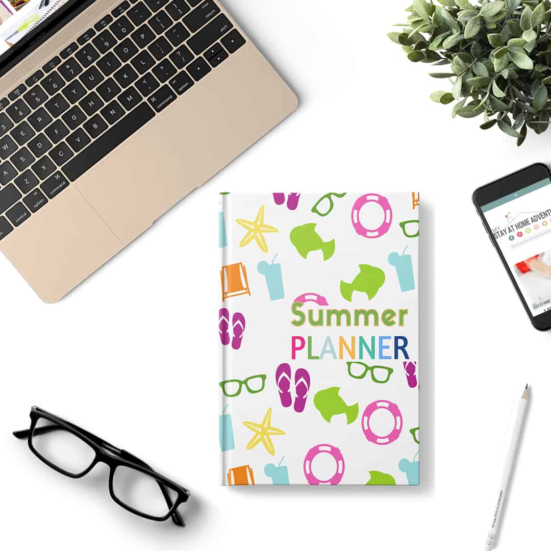 Free digital summer planner