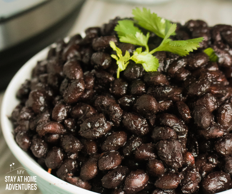 Instant Pot Black Beans Recipe