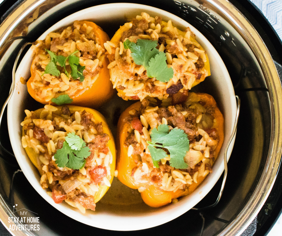 Hot to make instant pot stuffed peppers.