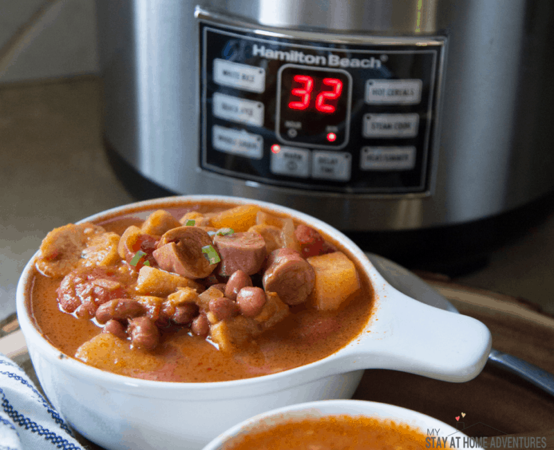 Rice Cooker Puerto Rican Beans