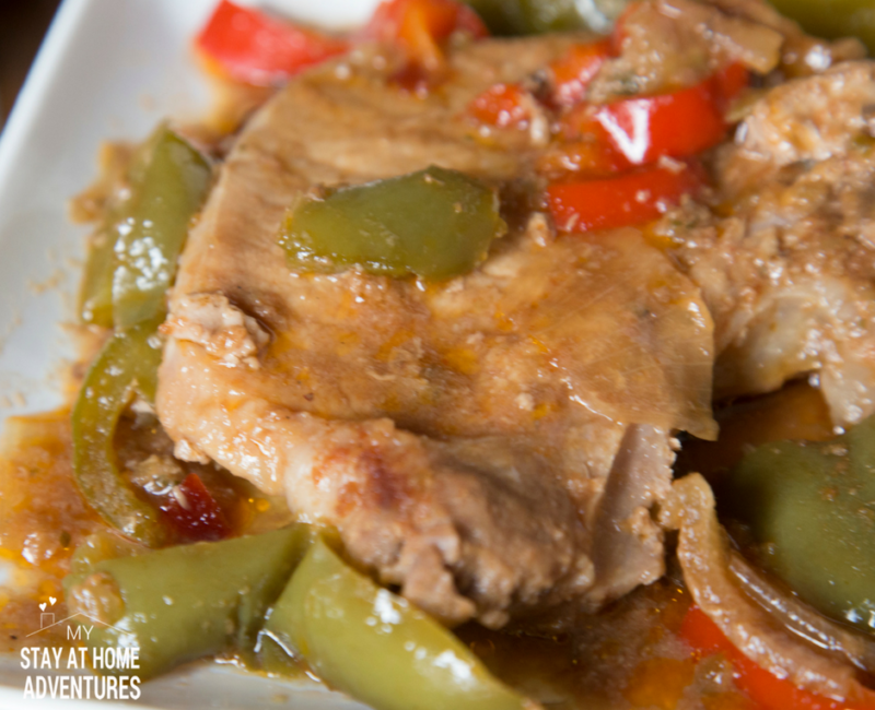Instant Pot Chuletas Guisadas / Stewed Pork Chops
