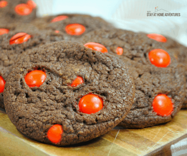 Delicious Nutella M&M Cookies