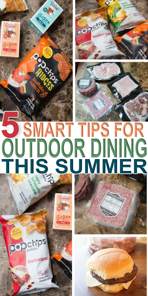 There are five tips for outdoor dining during the summer season you are forgetting about. Learn what they are and start planning today.