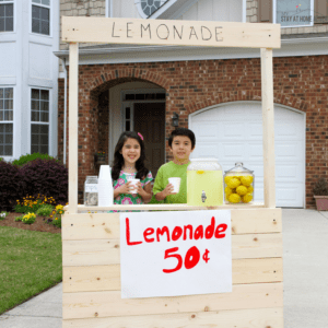 6 Reasons Why Having a Kid Lemonade Stand is Good For Them