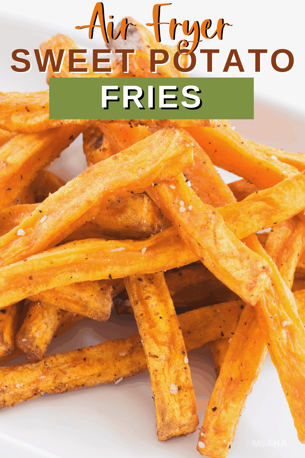 You have to try this air fryer sweet potato fries and marshmallow dipping sauce as soon as possible! Learn how simple and delicious this recipe is today. via @mystayathome