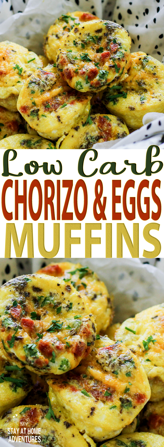 Learn how to create chorizo and eggs muffins that are full of flavor and yes, low carb friendly. This egg and chorizo recipe is also freezable to eat later!