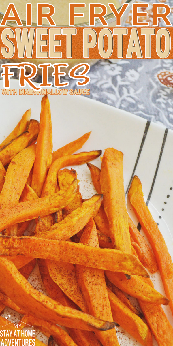 You have to try this air fryer sweet potato fries and marshmallow dipping sauce as soon as possible! Learn how simple and delicious this recipe is today.