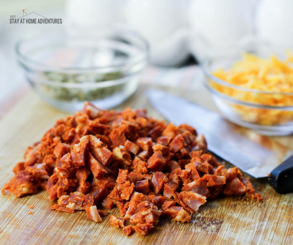 Chorizo and egg recipe - low carb