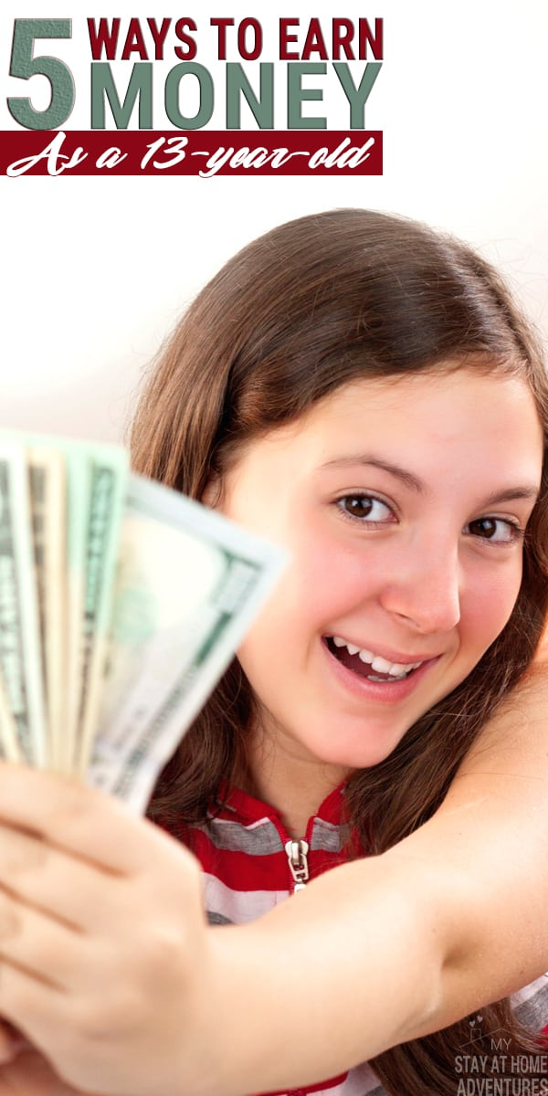 There are many ways to earn money as a 13-year-old that are not complicated and give parents and teens more control on how to earn it. Learn how here.