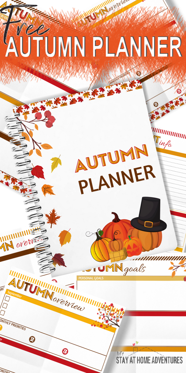 Looking for a free digital pllanner? Download our free Fall printable planner today and start planning your fall season today.