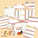 Free Fall Digital Planner