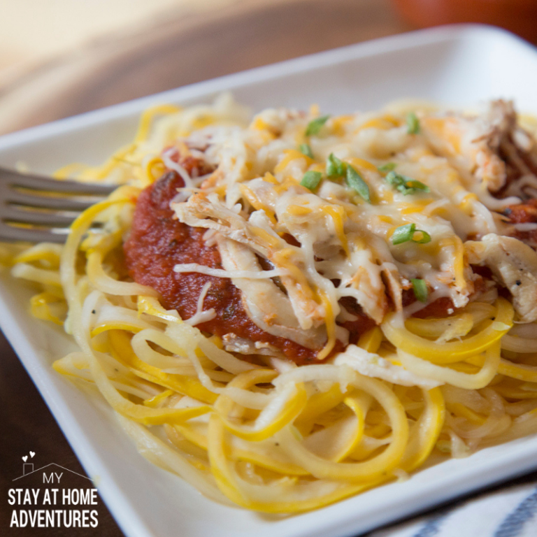 Squash Spaghetti with No Sugar Added Sauce (plus a Giveaway)