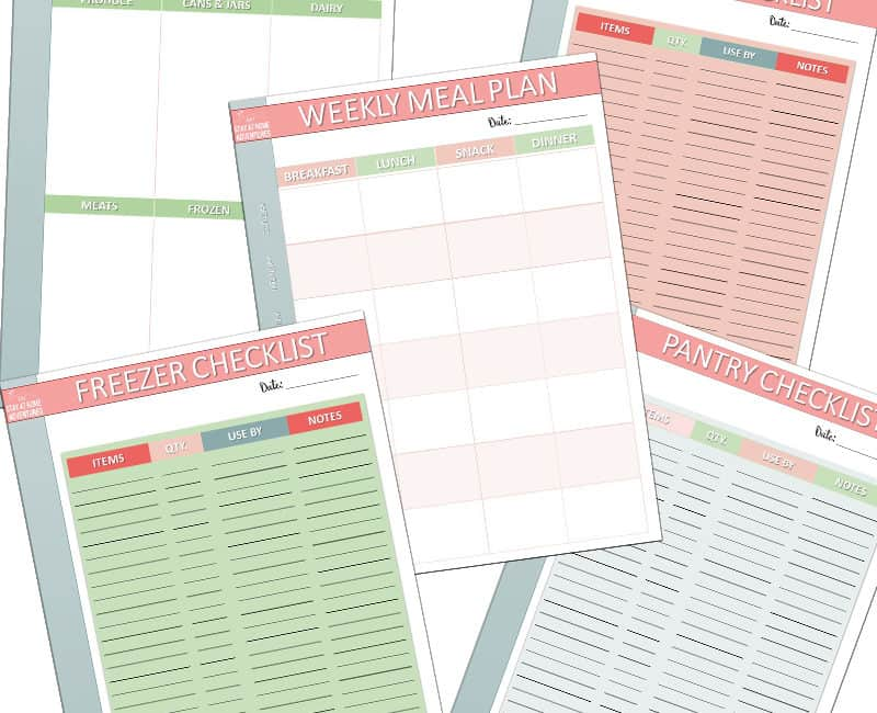 Meal Planning for A Busy Mom