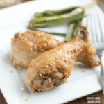 Low Carb Air Fryer Sesame Chicken Legs