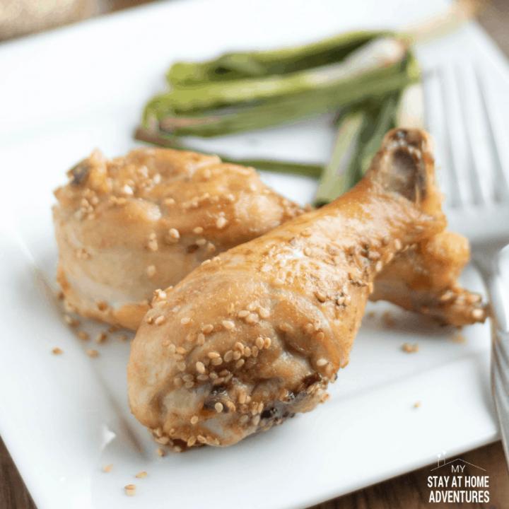 Low Carb Air Fryer Sesame Chicken Legs