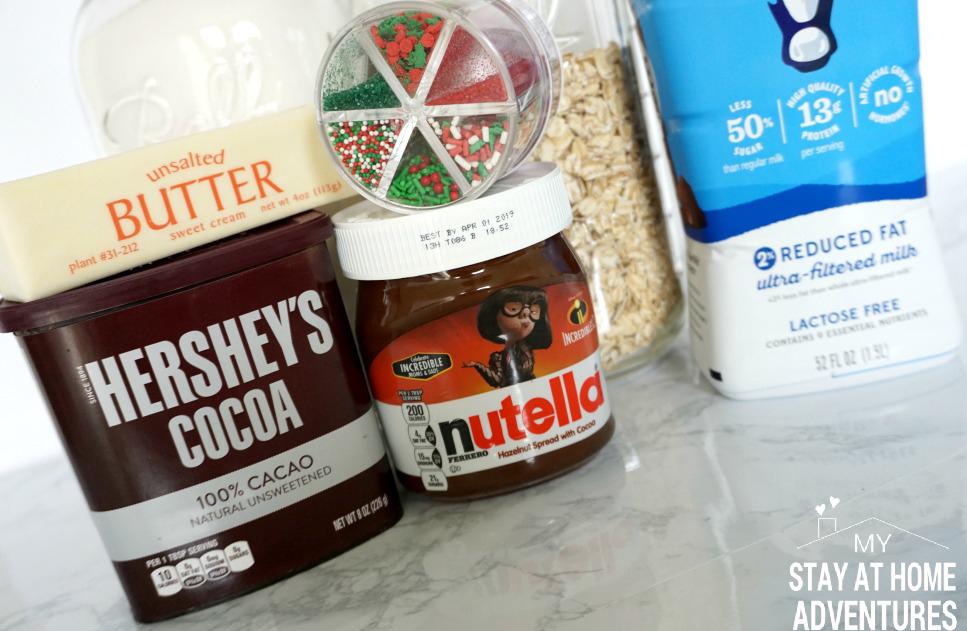 Nutella No Bake Cookie