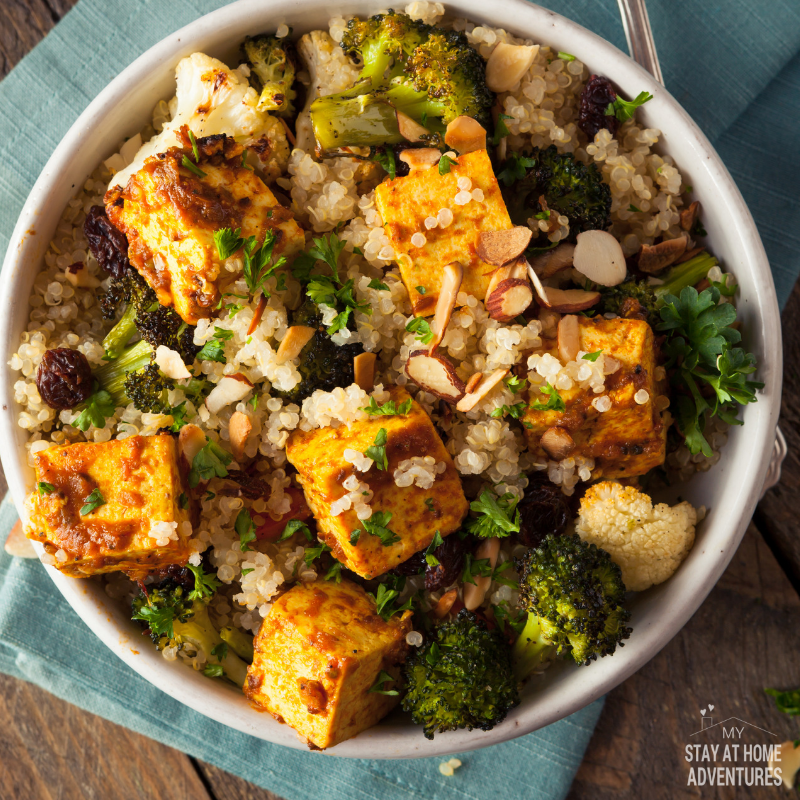 Quinoa and Tofu Bowl recipe
