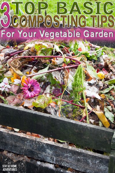 Looking for basic composting tips? You found them! Learn three beginner garden composting tips to help your vegetable garden this season.