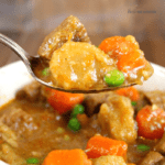 Slow Cooker Beef, Carrots & Parsnips Stew