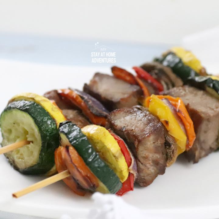 Air Fryer Steak Kabob Recipe