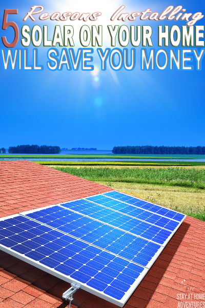 Go solar! Here are five reasons installing solar on your home will save you money and will even make you money. Learn the facts and how it benefits you.