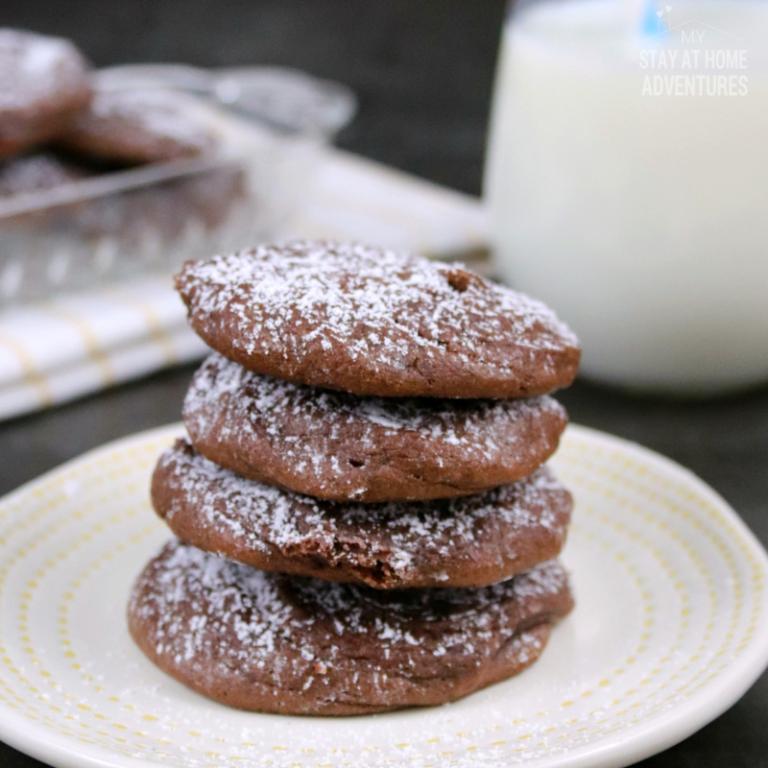 Sea Salt & Caramel Nutella Cookies