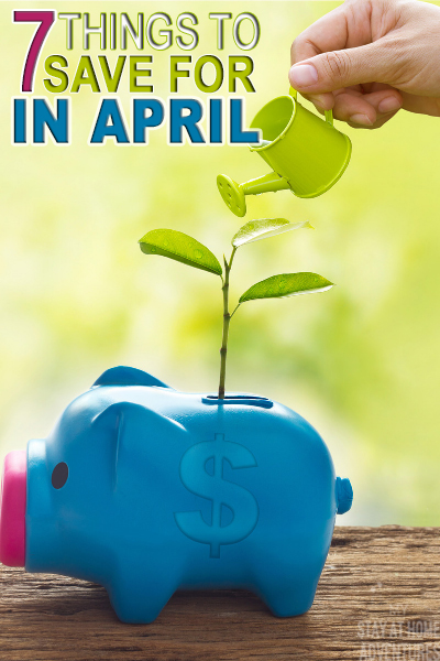 What to save for this April? Learn seven things to save for in April and why you need to budget for them. Before you budget this month read this.