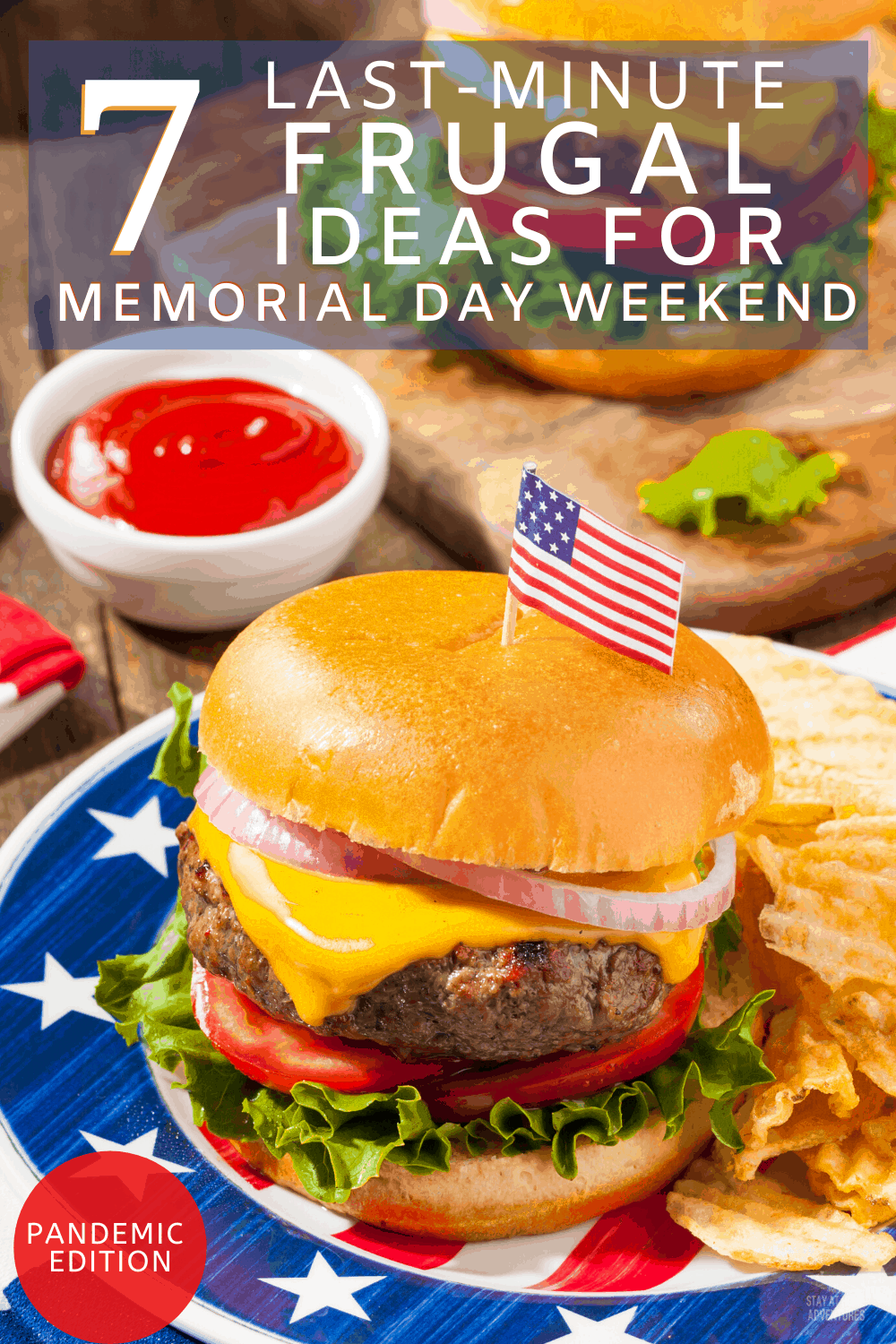Memorial Day Weekend 2020 is around the corner and if frugal is your lifestyle we g frugal ideas that will save you money and are pandemic-friendly#memorialday #memorialdayweekend #frugalideas  via @mystayathome