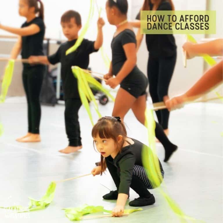 How to Afford Dance Classes