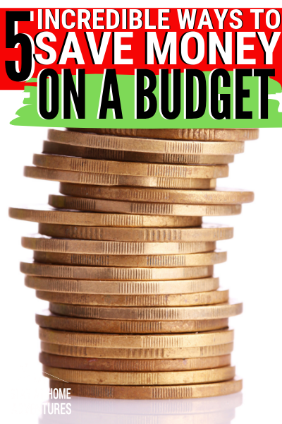 Saving money on a budget it's possible no matter how much you make. Learn how we managed to save money on a tight budget.