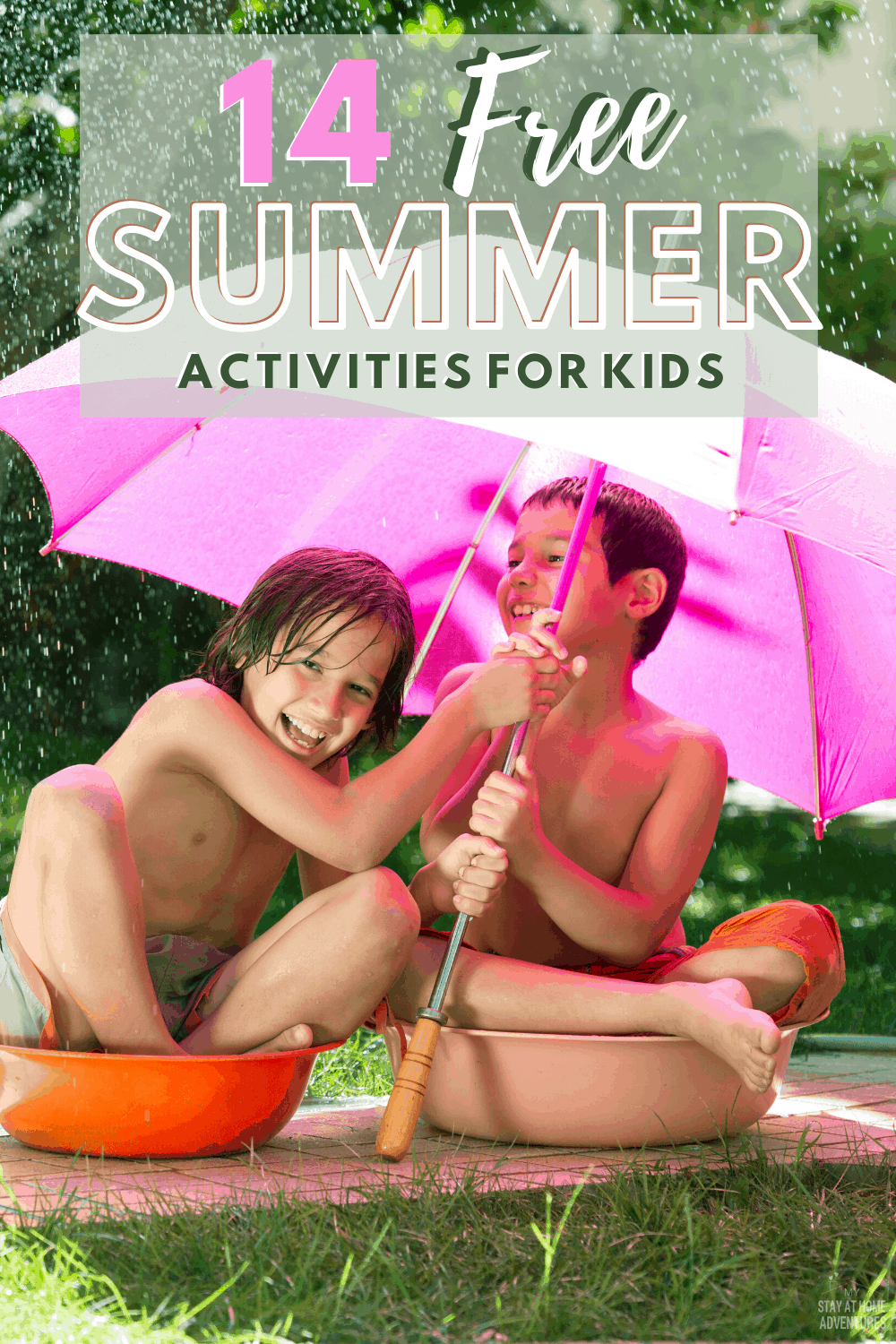 Check out these fourteen free summer activities for kids that won't cost you a dime and your family will enjoy. Start planning today and get the fun started. #activitiesforkids #summeractivities #freesummeractivities #budgetfriendly via @mystayathome