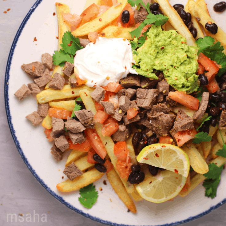 Carne Asada Loaded Fries