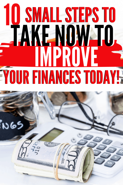 When we were young, many of us didn't particularly think of the steps we need to do to improve our finances, but we will today with these ten tips. via @mystayathome