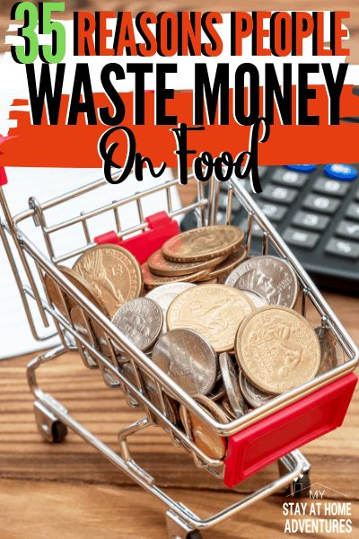 People love wasting money on food. We do! Here are 35 reasons why we seem to love wasting money on food and the reasons will shock you. via @mystayathome