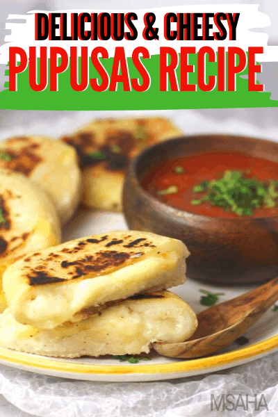 The Best Salvadorian Pupusas Recipe (Filled with Cheese) Learn how to make this delicious Salvadorian Pupusas recipe with five ingredients and all its cheesy glory! One of the best recipes you will ever find. via @mystayathome