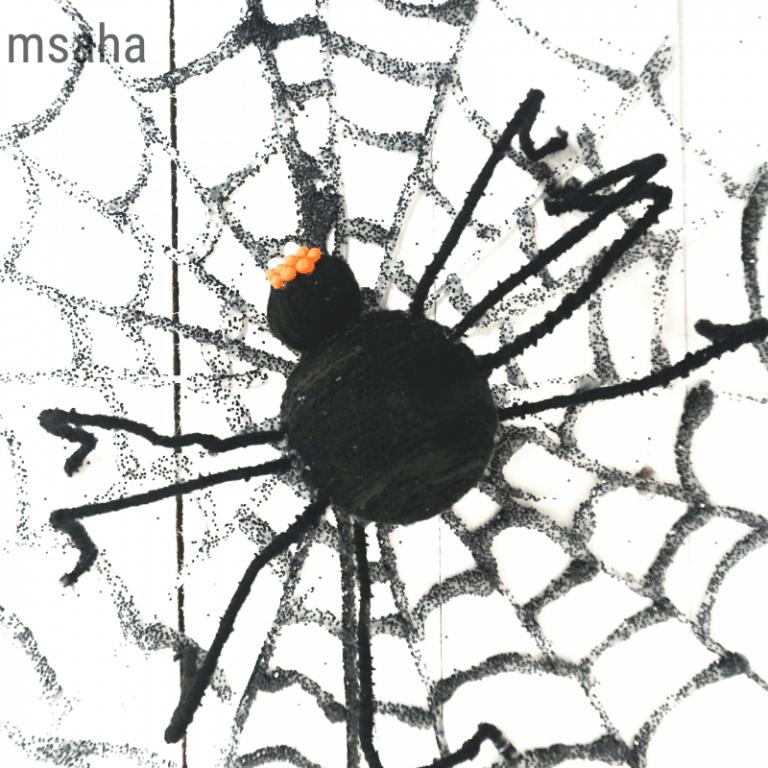 Easy Spiderweb Wreath