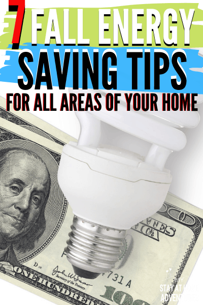 These 7 fall energy saving tips will help you reduce the cost of your bills and get you ready for the unpredictable winter season when you start today. via @mystayathome
