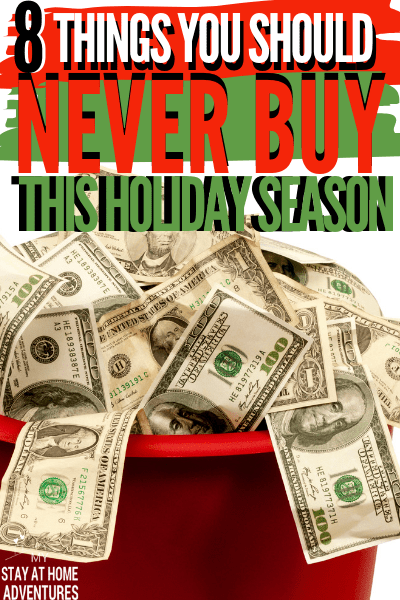 Financial Struggles are real this holiday season? Avoid wasting your money on these eight things during the 2019 Christmas season.