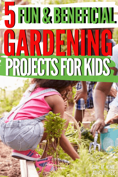Gardening projects benefit a child's learning regarding health and the environment. Learn five gardening projects kids that will teach them healthy habits.