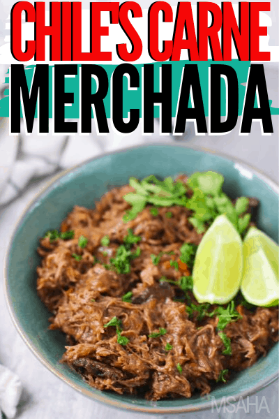 How to make carne mechada from Chile