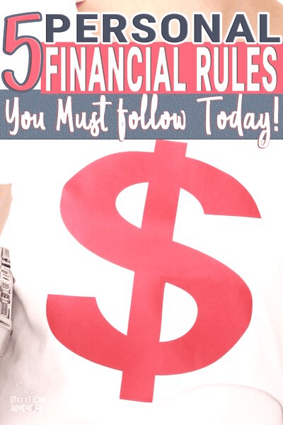 Are you following these personal financial rules? If you are having personal financial issues, chances are you are not following these 5 rules at all. via @mystayathome
