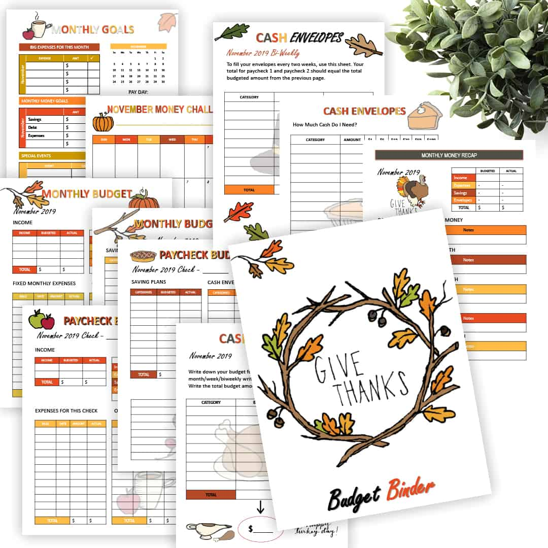 Looking for a free monthly budget printable? Download the free November Monthly Budget Sheets and start planning your month. It comes with 18 sheets. via @mystayathome