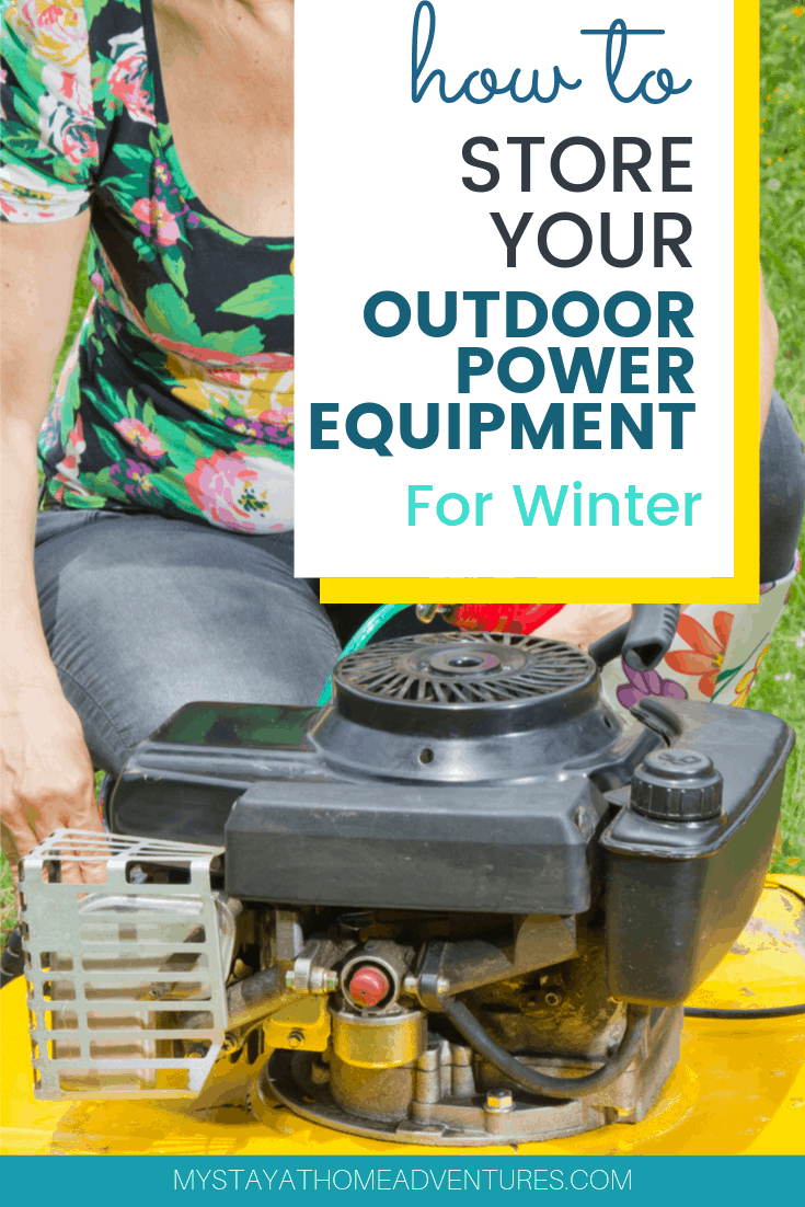 This winter, learn to preserve the life of your outdoor power equipment with these essential storage steps.