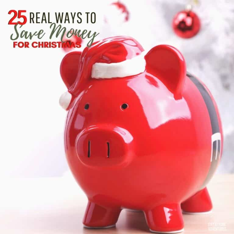 25 Never Thought Of Ways To Save Money For Christmas You Can Do Today!