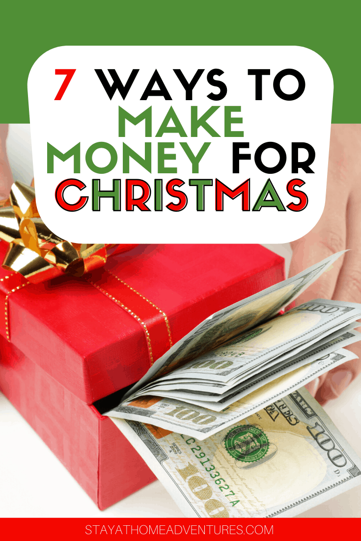 Are you looking for ways to make money for Christmas? Check out these seven ways you can score free cash for the holiday season and start making money today. via @mystayathome