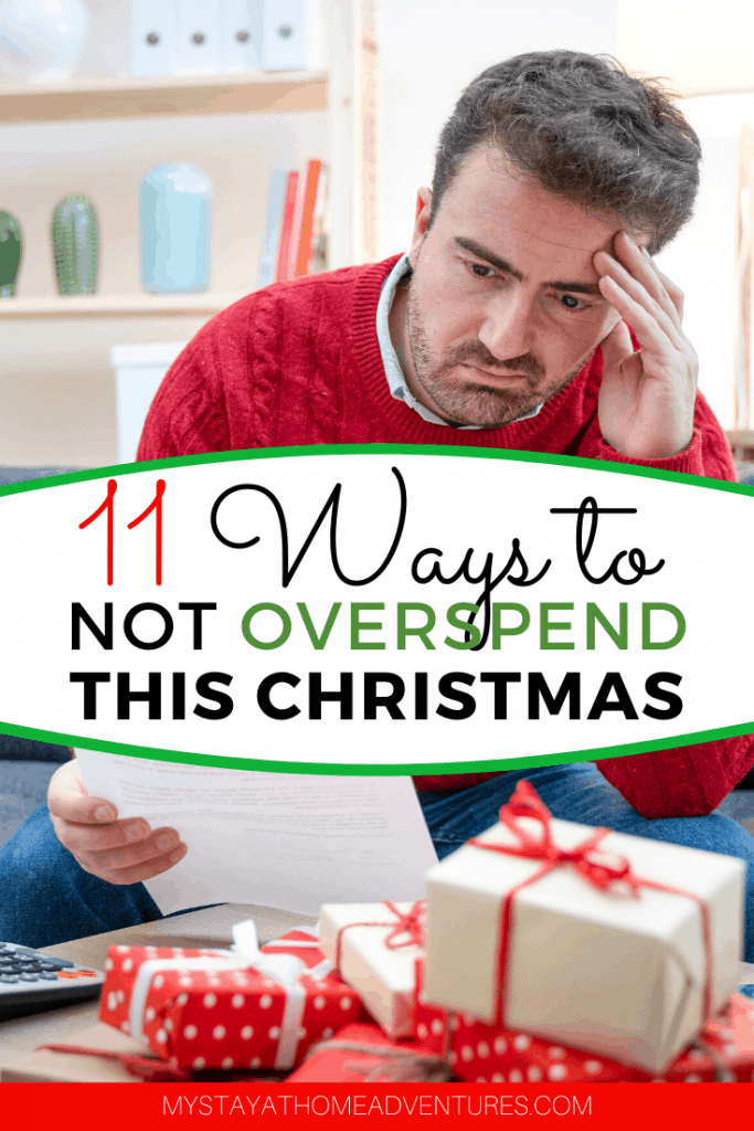 Are you trying to find ways NOT to overspend money this Christmas? Learn eleven tips to help you stay on track and avoid overspending money this holiday season.